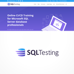 SQL Testing Logo - Entry #239