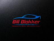 Bill Blokker Spraypainting Logo - Entry #74