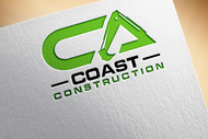 CA Coast Construction Logo - Entry #95