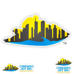 Chicago Jet Ski Adventures Logo - Entry #45