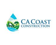 CA Coast Construction Logo - Entry #265