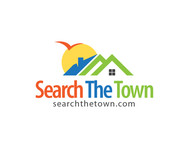 search the town .com     or     djsheil.com Logo - Entry #120