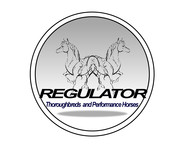 Regulator Thouroughbreds and Performance Horses  Logo - Entry #44