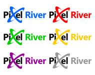 Pixel River Logo - Online Marketing Agency - Entry #32