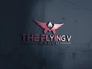 The Flying V Ranch Logo - Entry #91