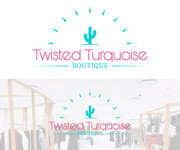 Twisted Turquoise Boutique Logo - Entry #88