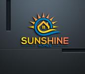 Sunshine Homes Logo - Entry #97