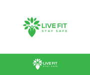 Live Fit Stay Safe Logo - Entry #92