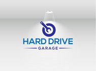 Hard drive garage Logo - Entry #279