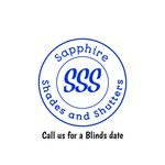 Sapphire Shades and Shutters Logo - Entry #201