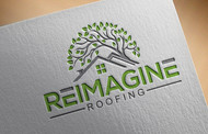 Reimagine Roofing Logo - Entry #155