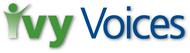 Logo for Ivy Voices - Entry #89