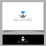 B&A Uniforms Logo - Entry #65