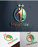 MealStax Logo - Entry #74