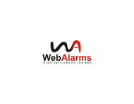 Logo for WebAlarms - Alert services on the web - Entry #32