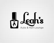 Leah's auto & nail lounge Logo - Entry #6