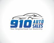 910 Auto Sales Logo - Entry #55