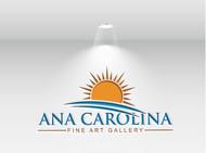 Ana Carolina Fine Art Gallery Logo - Entry #157