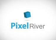 Pixel River Logo - Online Marketing Agency - Entry #106