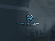Rams Duty Free + Smoke & Booze Logo - Entry #167