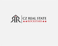 CZ Real Estate Rockstars Logo - Entry #163