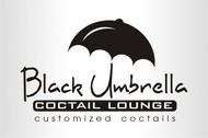 Black umbrella coffee & cocktail lounge Logo - Entry #179