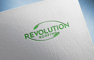 Revolution Roofing Logo - Entry #381