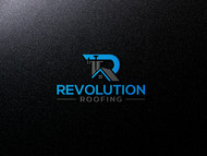Revolution Roofing Logo - Entry #198
