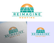 Reimagine Roofing Logo - Entry #4