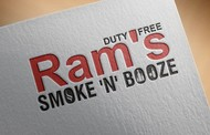 Rams Duty Free + Smoke & Booze Logo - Entry #286