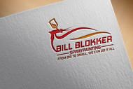 Bill Blokker Spraypainting Logo - Entry #81