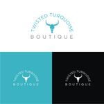 Twisted Turquoise Boutique Logo - Entry #66