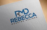 Rebecca Munster Designs (RMD) Logo - Entry #183