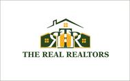 The Real Realtors Logo - Entry #123