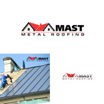 Mast Metal Roofing Logo - Entry #233
