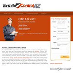 Termite Control Arizona Logo - Entry #14