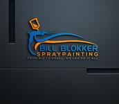 Bill Blokker Spraypainting Logo - Entry #27