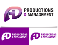Corporate Logo Design 'AD Productions & Management' - Entry #98