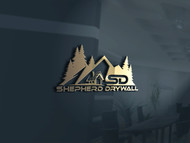 Shepherd Drywall Logo - Entry #175