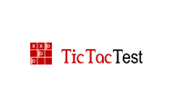 TicTacTest Logo - Entry #83