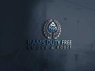 Rams Duty Free + Smoke & Booze Logo - Entry #130
