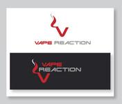 Vape Reaction Logo - Entry #132