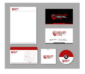 Secure. Digital. Life Logo - Entry #53