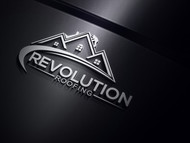 Revolution Roofing Logo - Entry #71