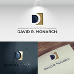 Law Offices of David R. Monarch Logo - Entry #44