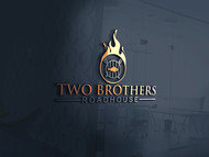Two Brothers Roadhouse Logo - Entry #46