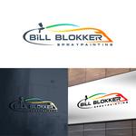 Bill Blokker Spraypainting Logo - Entry #40