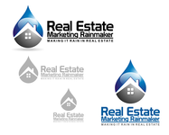 Real Estate Marketing Rainmaker Logo - Entry #34