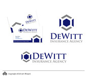 """DeWitt Insurance Agency"" or just ""DeWitt"" Logo - Entry #180"