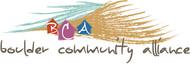 Boulder Community Alliance Logo - Entry #157
